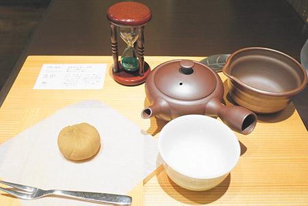 名古屋の新緑茶房のお茶