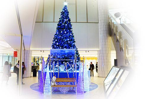 アナと行きの女王ノクリスマスツリー