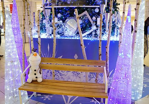 大名古屋ビルヂングのクリスマスデコ
