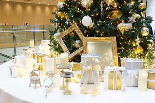 大名古屋ビルヂングのクリスマスデコレーション