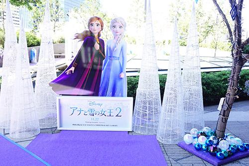 アナと雪の女王2フォトスポット