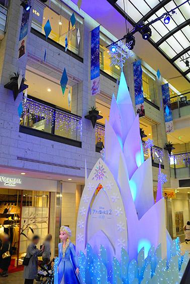 栄ラシック1階のアナ雪
