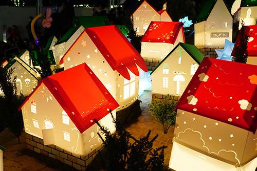 名古屋の星ヶ丘テラスのウィンターイルミネーション