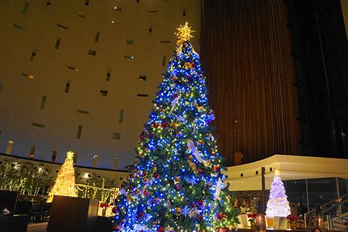 東京ベイ舞浜ホテルのクリスマスツリー