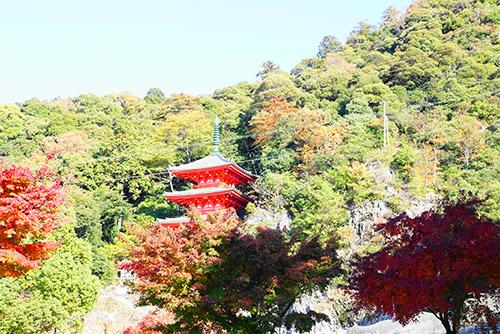 岐阜公園の三重塔