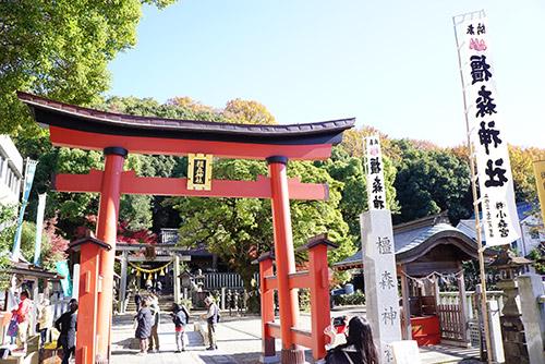 橿森神社(かしもりじんじゃ)