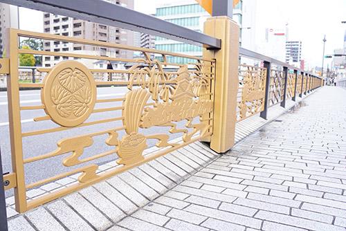 岡崎市の乙川にかかる殿橋