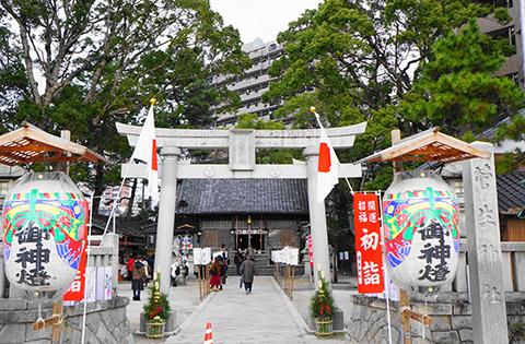 岡崎最古の菅生神社(すごうじんじゃ)