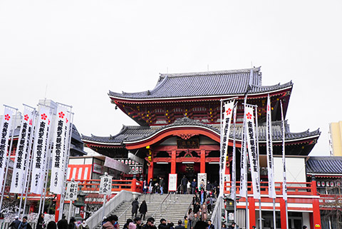 名古屋の大須観音