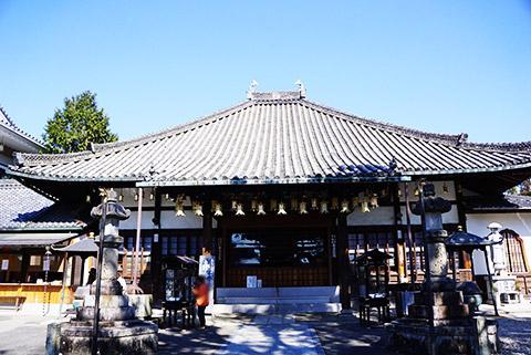 八事興正寺の七福神は寿老人