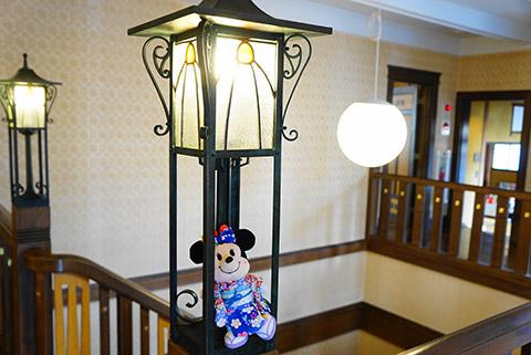 二葉館の電灯
