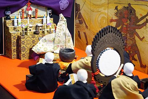 大須の万松寺の福よせ雛