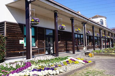 戸田川緑地のレストハウス