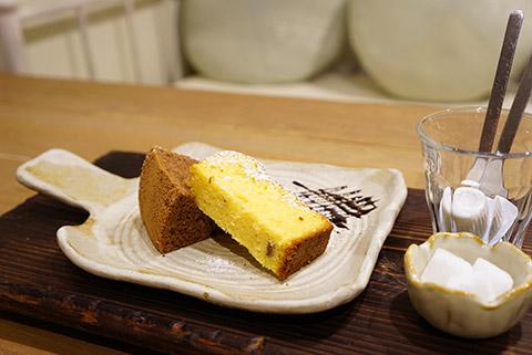 クークーカフェのランチのデザート
