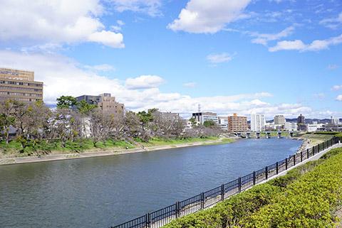 岡崎市の乙川