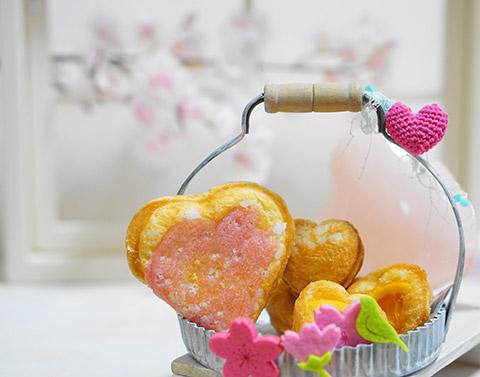 デニッシュハートもちもち桜餅