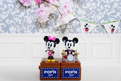 ポップンビートのミニー&ミッキー