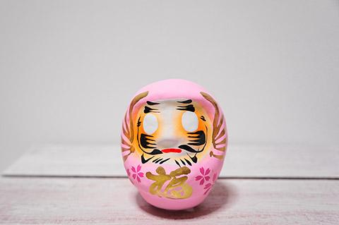 龍城神社の桜だるま