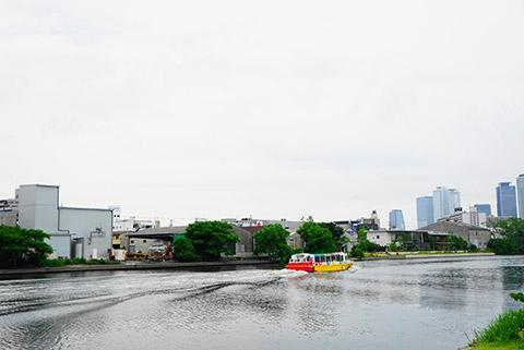 名古屋の水上バス