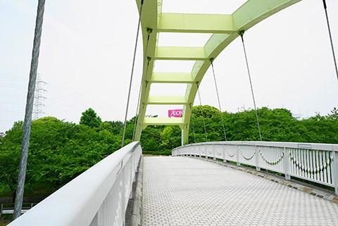 荒子川を渡る橋