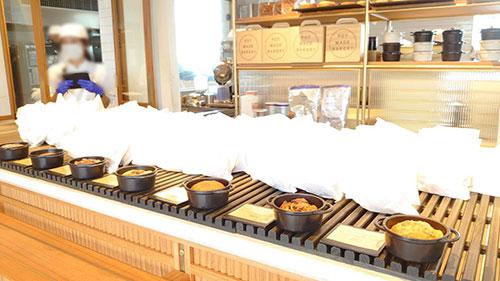 ポットメイドベーカリーのパン