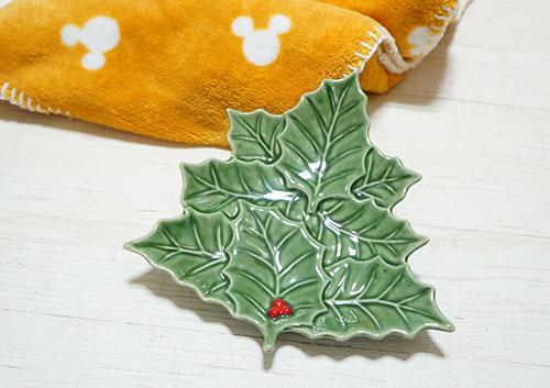 クリスマスツリーのプレート