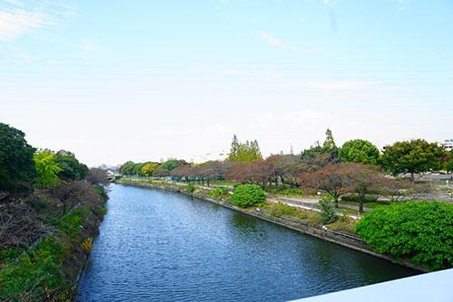 名古屋市港区の荒子川
