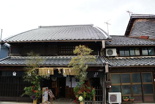 犬山城下町の旧磯部家住宅