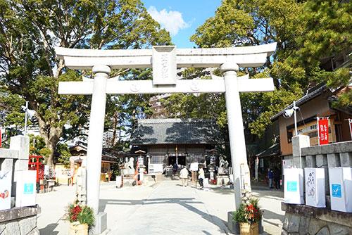 岡崎で最古の神社、菅生神社
