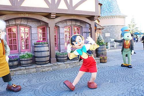 ピノキオとゼペットじいさん