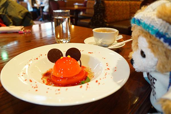 ミッキーマウスのデザート
