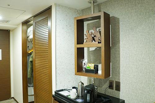 シェラトングランデ東京ベイのパークウィング最上階の客室