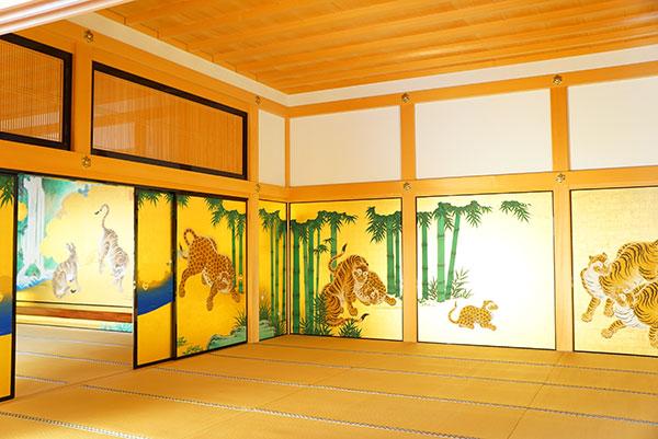 名古屋城の本丸御殿の障壁画