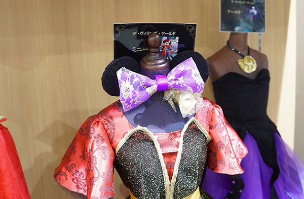 ミニーマウスの衣装