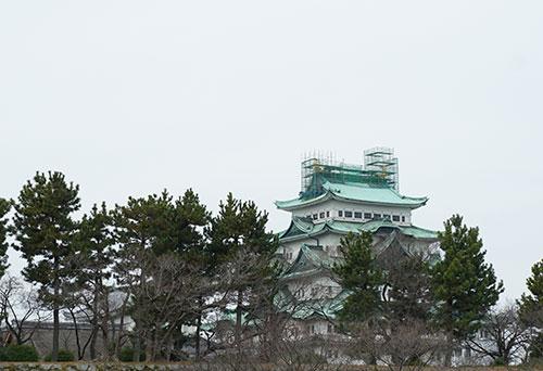 名古屋城の金シャチ