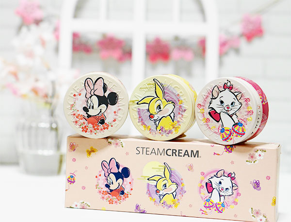 """STEAM CREAM Disney design mini set """"JAPANESQUE"""""""