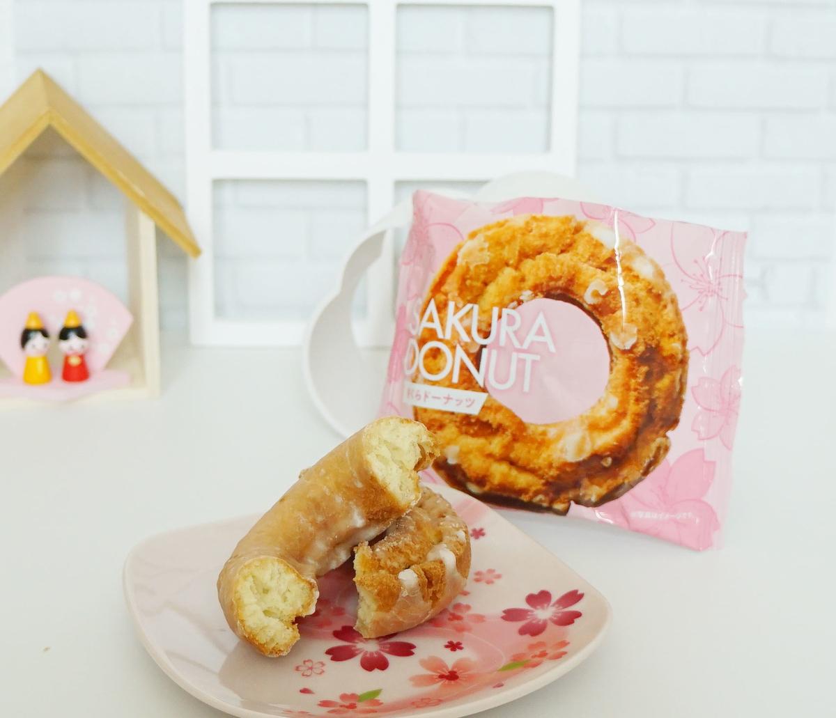 カルディの桜ドーナツ