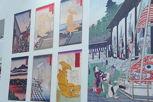 名古屋城の金鯱展