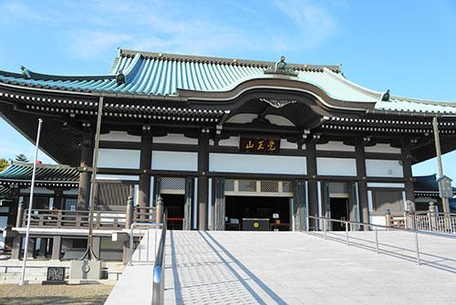 日泰寺の本堂