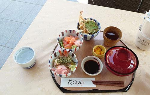 花ごよみのお寿司ランチ