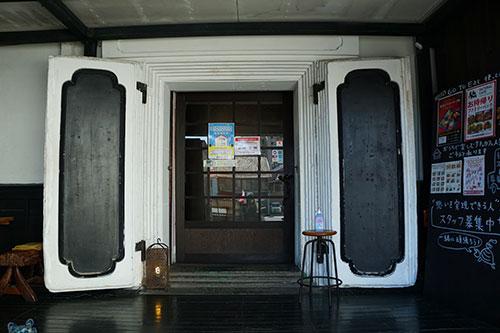 蔵をリフォームしたナチュラルカフェ