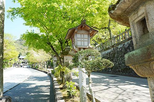 岐阜市の伊奈波神社