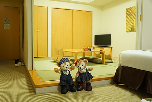 ホテルエミオンの和洋室
