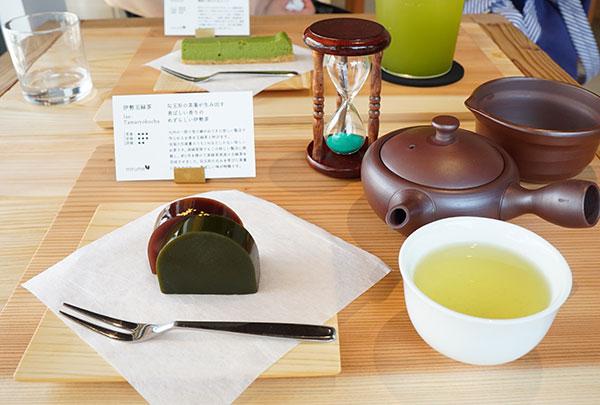 伊勢茶と和菓子