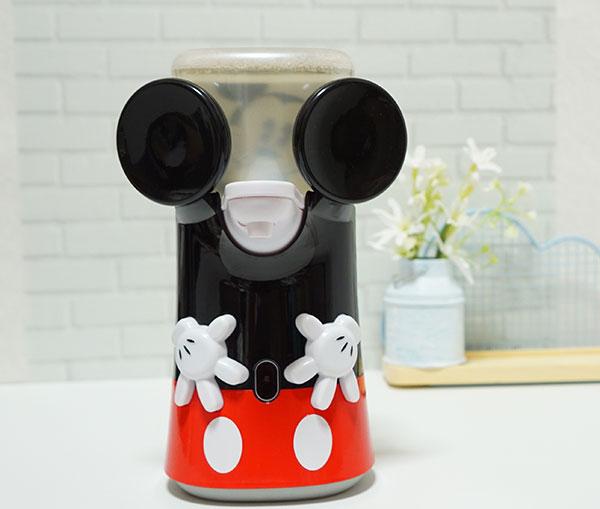 ミューズノータッチ泡ハンドソープのミッキーマウスデザイン