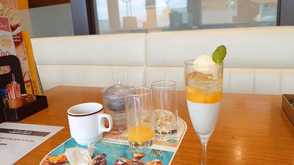 グラスパフェ レモン&マンゴー