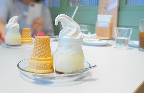 名古屋市天白区のまるご製パンの北海道ソフトクリーム