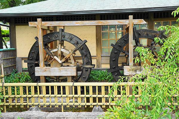 水車小屋もあります