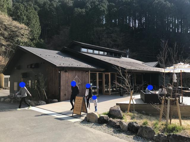 売店の建物は同じようですが、カフェに作り替えられていました。