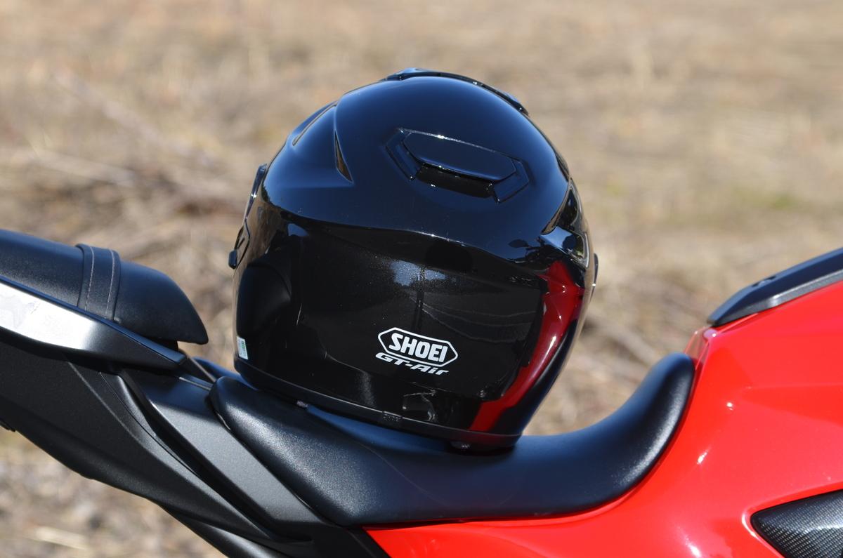 MT-07とヘルメット
